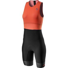 Castelli SD Team Race Suit Women, arancione/nero
